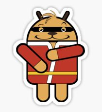 Hong Droid Phooey Sticker