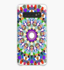 Stained Glass Flower Mandala | 11 Point Hendecagon Case/Skin for Samsung Galaxy