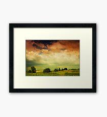 In a Landscape • 2011 Framed Print