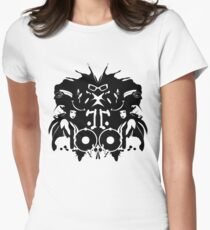 The Rorschach Test Womens Fitted T-Shirt
