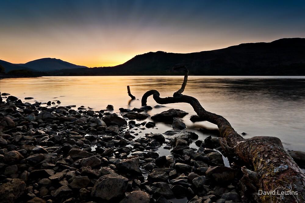 Sunrise at Derwent Water, Cumbria by David Lewins