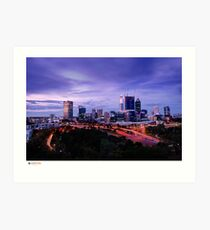 Perth Long Exposure Art Print