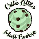 Cute Little Mint Cookie  by Didi Williams