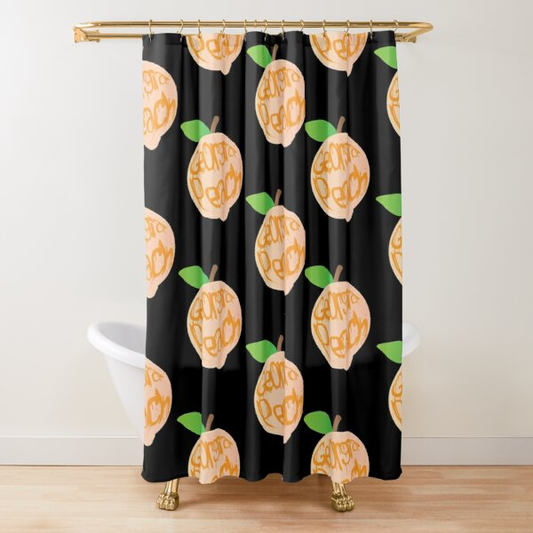 Georgia Peach  Shower Curtain