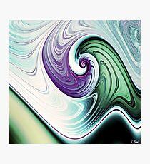 Wave Goodbye Photographic Print