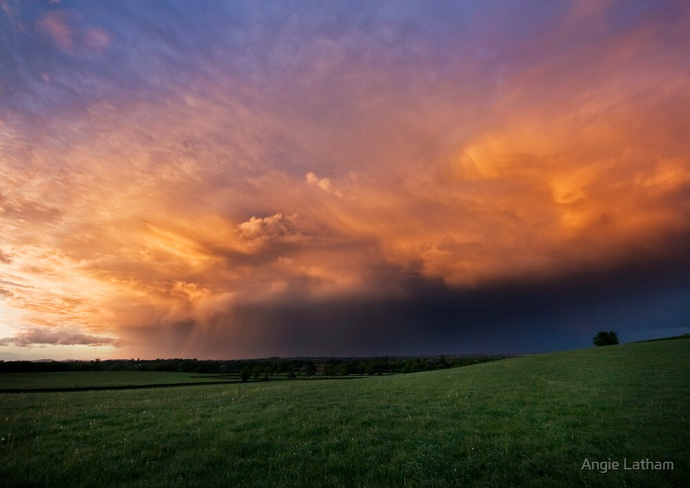 Spring Storm Clouds by Angie Latham