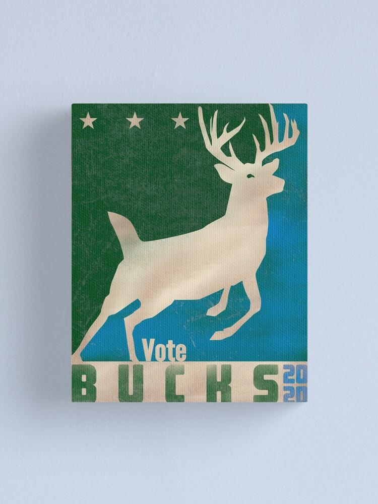 Alternate view of Vote Bucks - 2020 Canvas Print