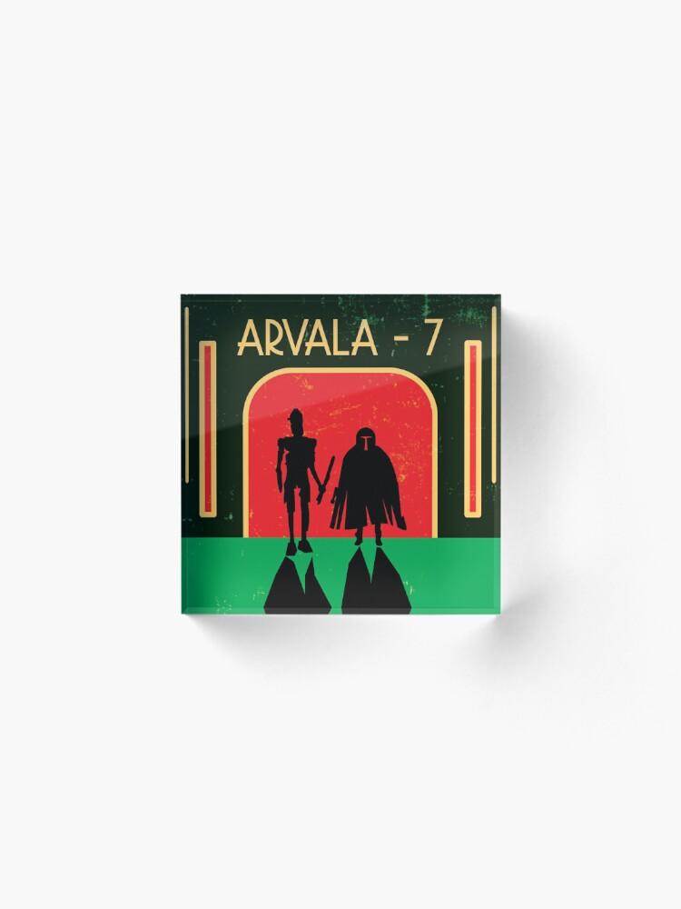 Alternate view of Arvala-7 Acrylic Block