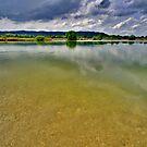 Lake Eichsee Germany by Daidalos