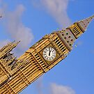 London Architecture  Big Ben Perspective by DavidGutierrez