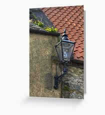 Dandelions and Lamplight Greeting Card