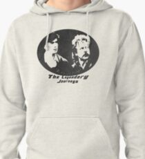 Rowsdower:  Zap And Troy the Legendary Journeys Tee (b&w version) Pullover Hoodie