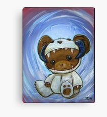 Mr. Chompypants meets a Wampa Canvas Print