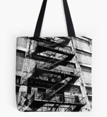 Fire escape Tote Bag