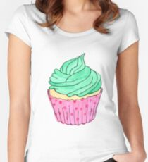 Mint Women's Fitted Scoop T-Shirt