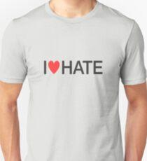 i heart hate [black text] T-Shirt