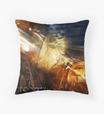 """""""Painted with Light"""" Throw Pillow"""