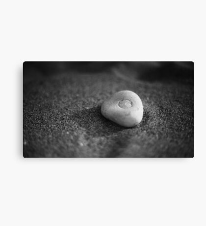 Lonely Stone Canvas Print
