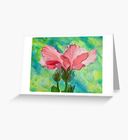 Silence is Beauty Greeting Card