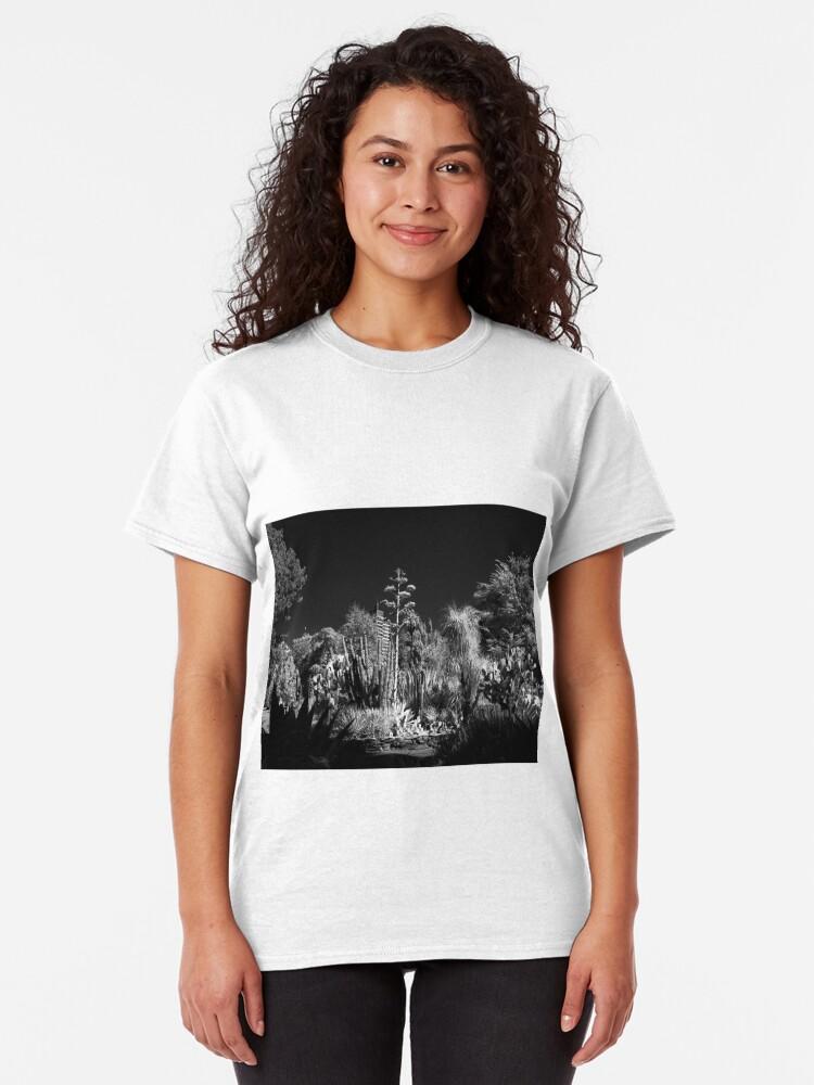Alternate view of Cactus Garden, Capitol Park, Sacramento California Classic T-Shirt