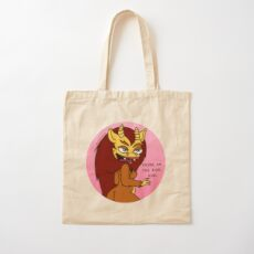 CONNIE HORMONE MONSTRESS - You're On The Rise Girl Cotton Tote Bag