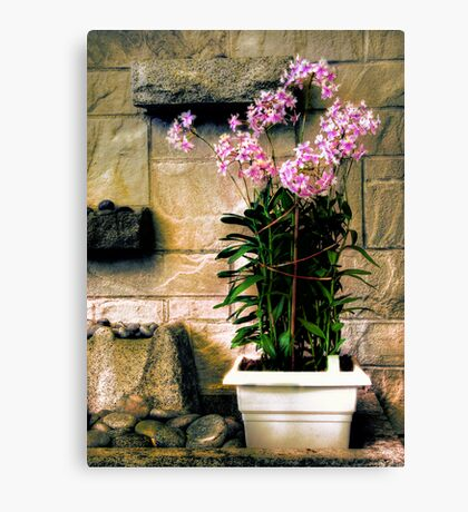 Decorative Flowers Canvas Print