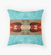 Endless Summer Pattern Throw Pillow