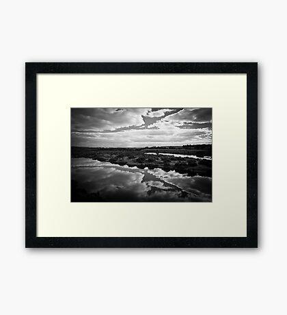 Maidment Lagoon near Bowhill Framed Print