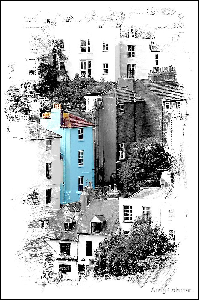 The Blue House by Andy Coleman