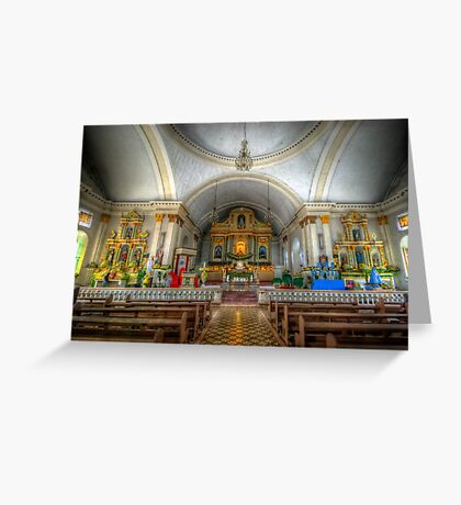 St Joseph Cathedral - Altar Greeting Card