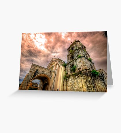 St Joseph Cathedral - Exterior Greeting Card