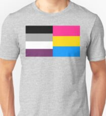 Panromantic Asexual Flag Unisex T-Shirt