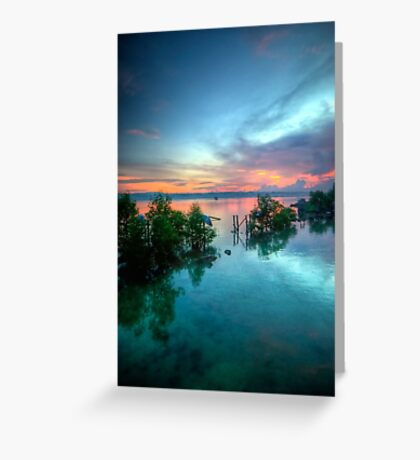 Boat Hangers Greeting Card