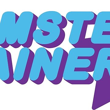 Hamster Trainer Blue/Purple by hamsters