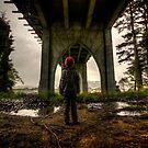Gnome Under the Bridge by Avena Singh