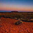 Uluru Landscape by Andrew Wilson