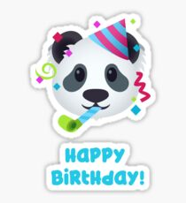 Happy Birthday - Panda emoji Sticker