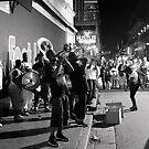 Bourbon Street Brass Band by John Tomasko