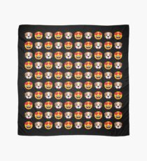 Love Dogs Emoji JoyPixels Lovely Cute Funny Puppies Scarf