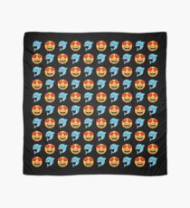 Love Dolphin Emoji JoyPixels Lovely Cute Funny Dolphins Scarf