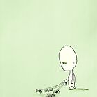 he walks spiders by Loui  Jover
