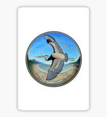 Great Blue Heron Sticker