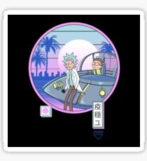 Rickwave Morty Sticker