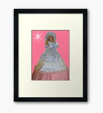 ¸.•*´♥`*•. Cute Doll ¸.•*´♥`*•. Framed Print