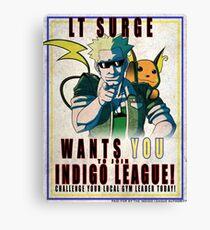 Lt. Surge Wants You! Canvas Print