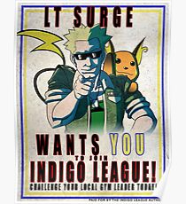 Lt. Surge Wants You! Poster