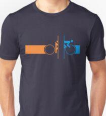 Bike Stripes Portal Slim Fit T-Shirt
