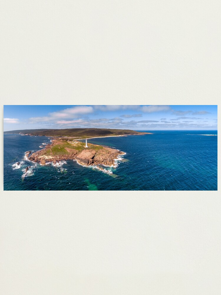 Alternate view of Cape Leeuwin Lighthouse, Western Australia Photographic Print