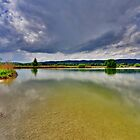 Lake Eichsee Germany II by Daidalos
