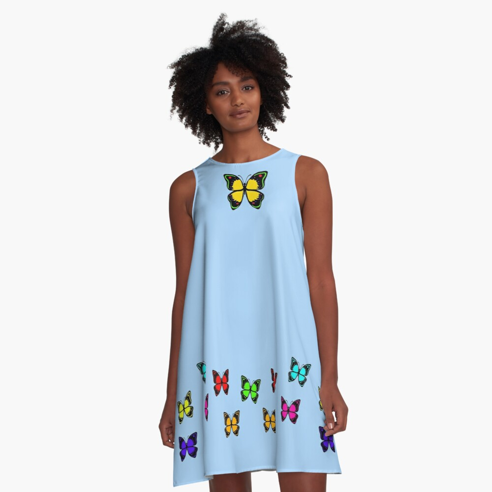 GINNY Women's A-Line Dress A-Line Dress